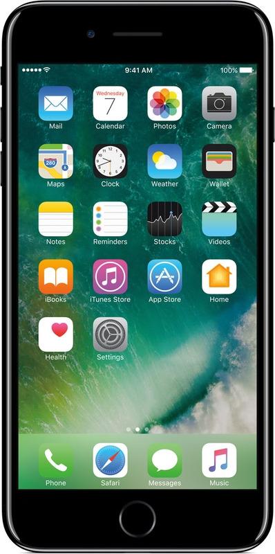 Смартфон Apple iPhone 7 Plus 128GB, черный оникс. Уцененный товар