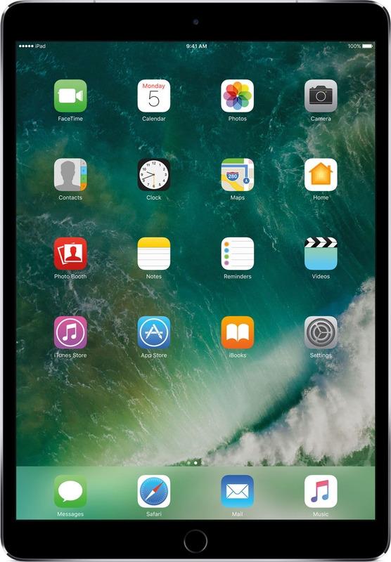 Планшет Apple iPad Pro Wi-Fi + Cellular (2017) 512 ГБ, серый космос стилус iphone ipad
