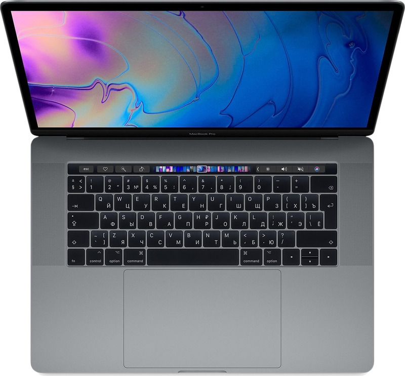 15.4 Ноутбук Apple MacBook Pro MR942RU/A, серый ноутбук apple macbook pro mr942ru a
