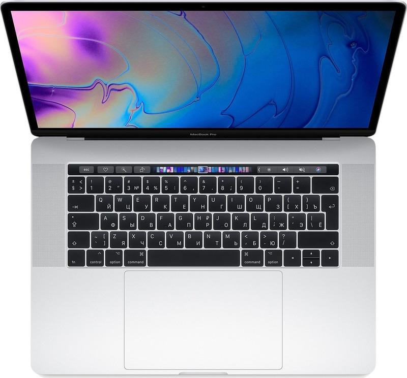 15.4 Ноутбук Apple MacBook Pro MR972RU/A, серебристый ноутбук apple macbook pro mr9r2ru a