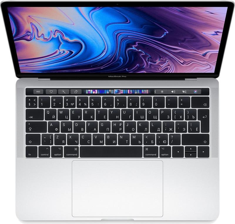 13.3 Ноутбук Apple MacBook Pro MR9V2RU/A, серебристый ноутбук apple macbook pro mr9r2ru a
