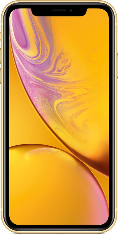 Смартфон Apple iPhone XR 3/128GB, желтый смартфон iphone xr 128gb black mry92ru a