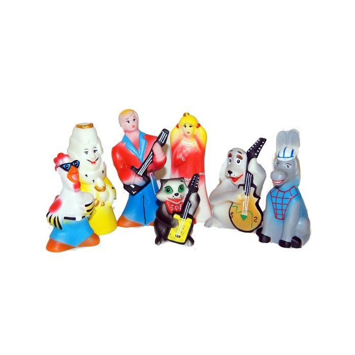 Кукольный театр ПКФ «Игрушки» Бременские уличные музыканты фигурки игрушки prostotoys разбойники бременские музыканты