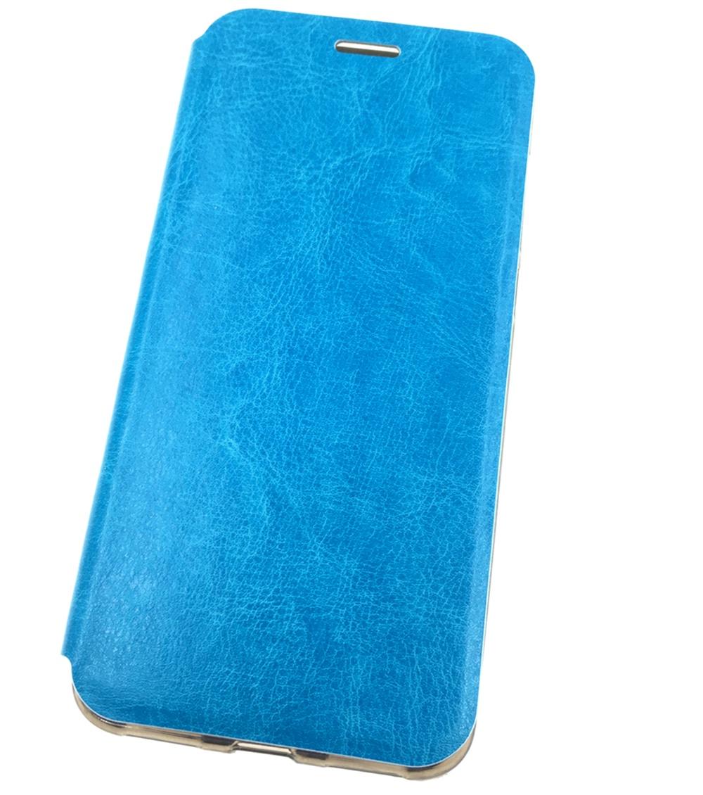 Чехол для сотового телефона Мобильная мода Xiaomi Redmi 5 Plus Чехол-книжка пластиковая с подставкой, бирюзовый чехол для сотового телефона мобильная мода samsung s9 чехол книжка пластиковая под оригинал 1535 синий