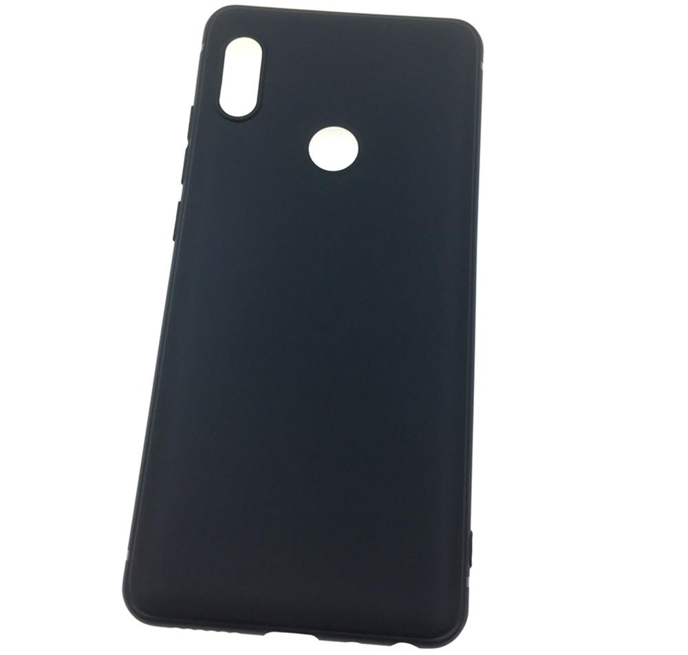 Чехол для сотового телефона Мобильная мода Xiaomi Redmi Note 5 Накладка силикновая с не скользящим покрытием, черный