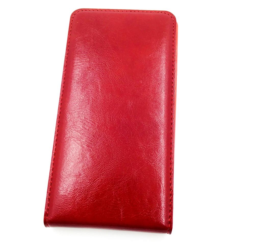 цена на Чехол для сотового телефона Мобильная мода Lenovo S856 Чехол-книжка вертикальная флип с магнитом, красный