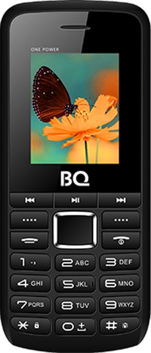 Мобильный телефон BQ 1846 One Power, черный, оранжевый мобильный телефон bq 2429 touch черный 2 4 32 мб bluetooth
