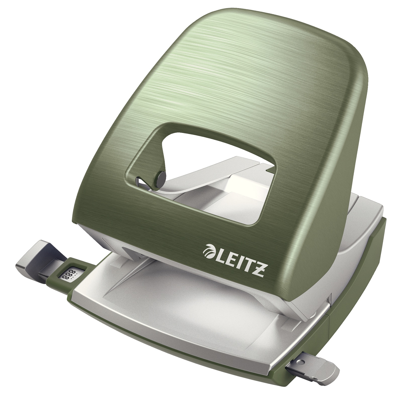 Дырокол Leitz металлический NeXXt Style, 30 листов