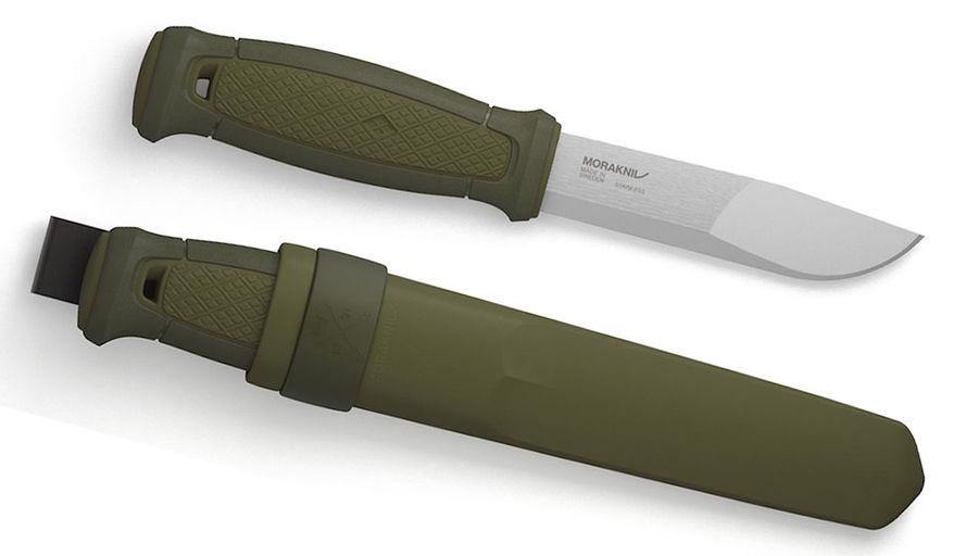 Нож туристический Morakniv Kansbol, темно-зеленый