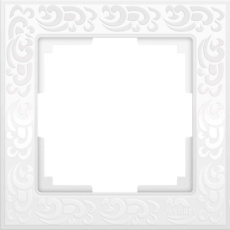 Рамка электроустановочная Werkel a028962, белый