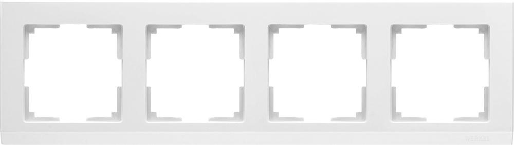 Рамка электроустановочная Werkel a028924, белый