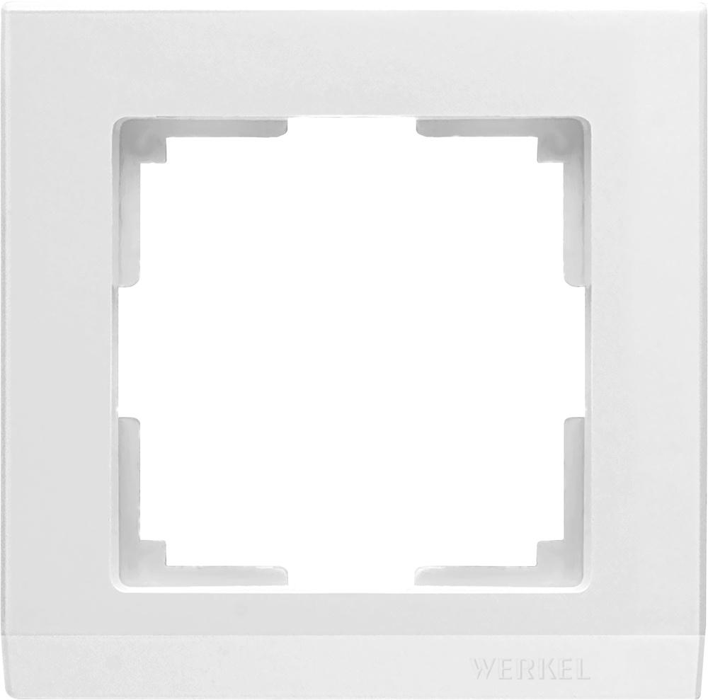 WL04-Frame-01-white / Рамка на 1 пост (белый) цена и фото
