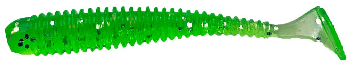 Приманка рыболовная Siweida Spark Tail Shad, 69949, зеленый (164), 75 мм, 7,5 г, 7 шт