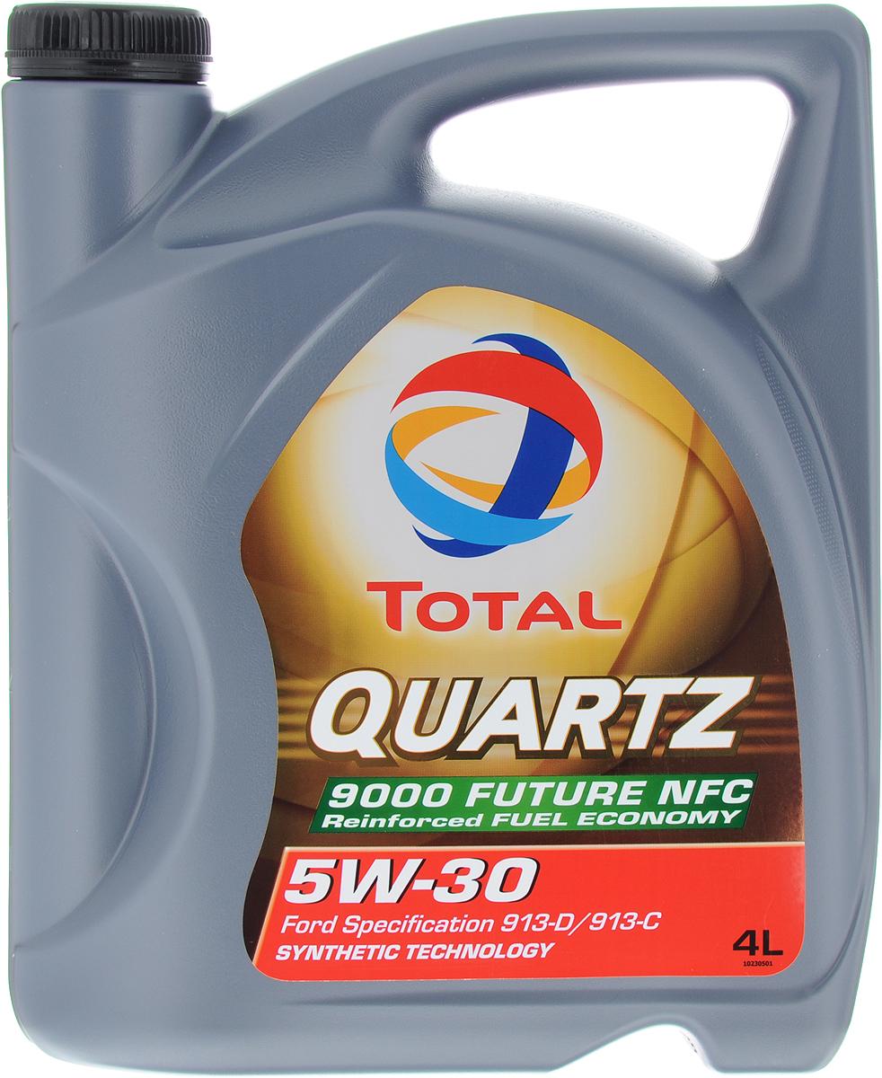 Моторное масло Total Quartz 9000 Fut.Nfc 5W30, синтетическое, 4 л total quartz ineo ecs 5w 30 4 л