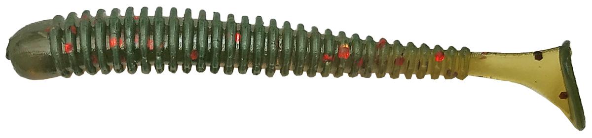 Приманка рыболовная Siweida Spark Tail Shad, 69946, темно-зеленый (189), 75 мм, 7,5 г, 7 шт