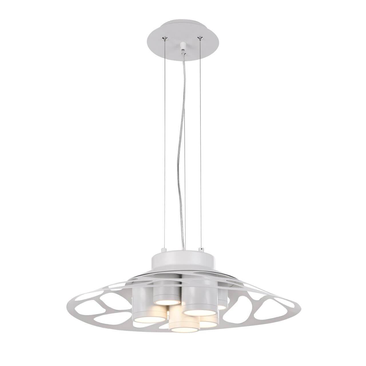 Подвесной светильник Favourite 2073-7P, белый подвесная светодиодная люстра favourite ully 2073 7p
