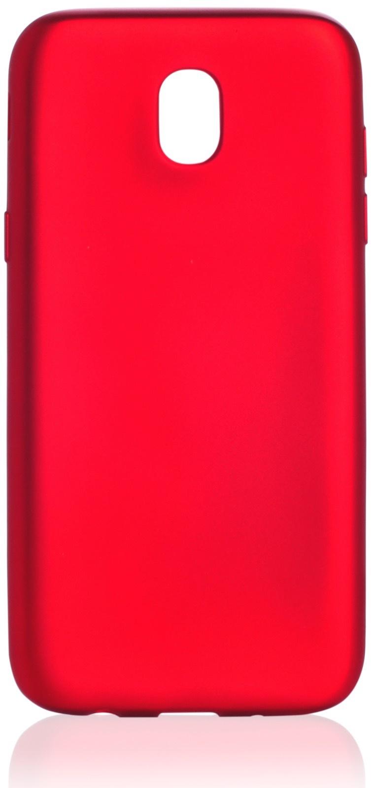 Чехол для сотового телефона Gurdini силикон Soft Touch для Samsung Galaxy J5 2017 (J 530), красный
