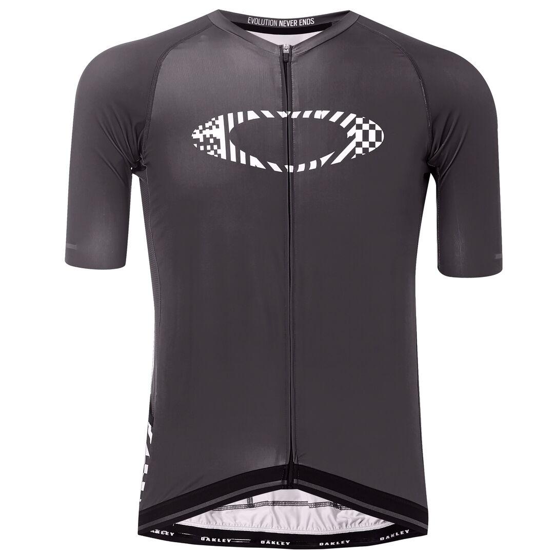Веломайка мужская Oakley Icon-Jersey, 434361-02E_Blackout, черный, размер XXL (54)