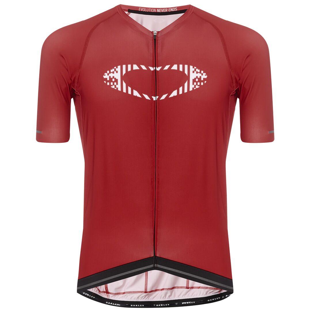 Веломайка мужская Oakley Icon-Jersey, 434361-42V_Vampirella, красный, размер M (48)