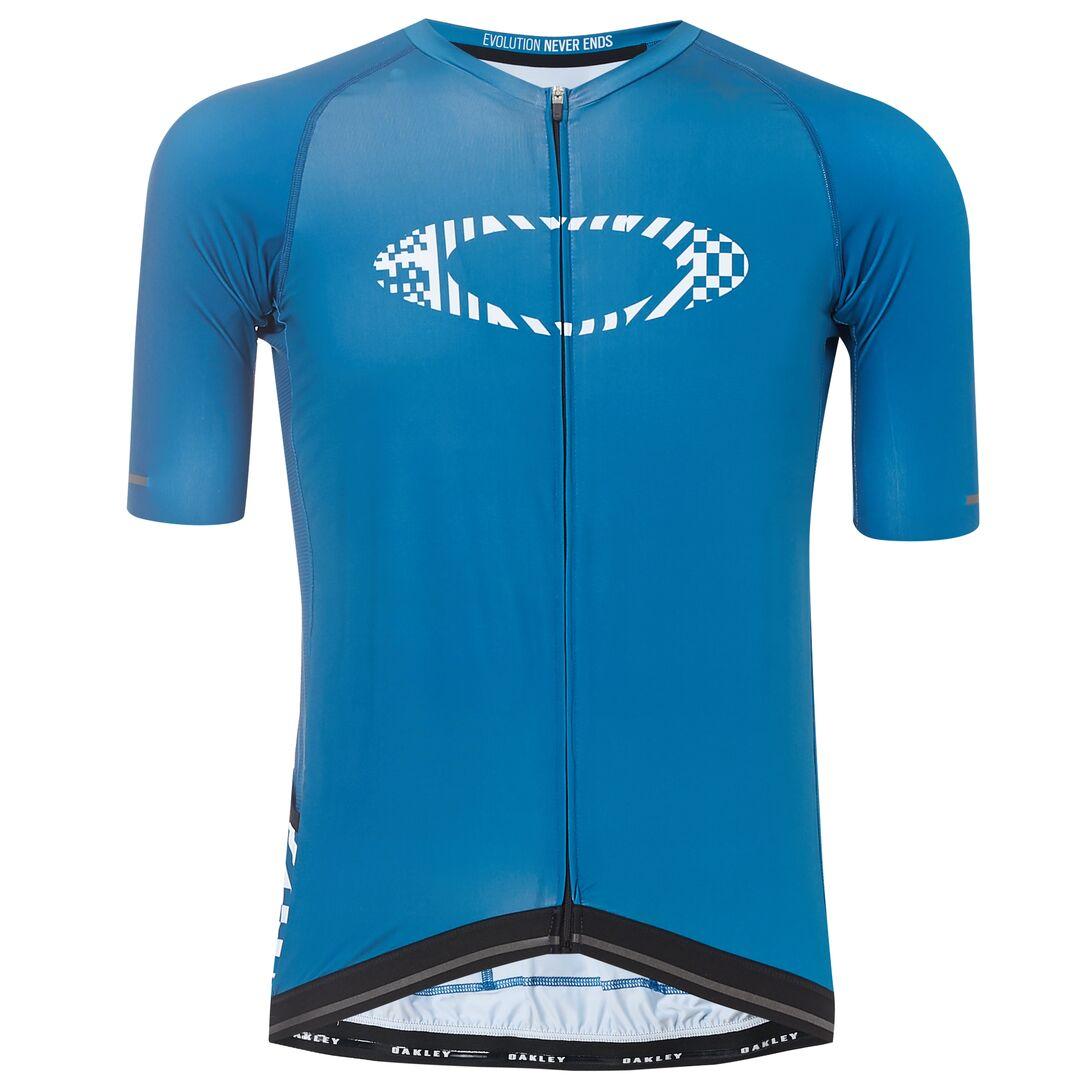 Веломайка мужская Oakley Icon-Jersey, 434361-6A9_Balsam, голубой, размер L (50)