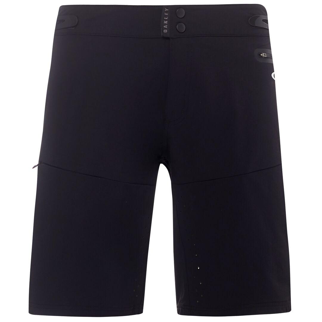 купить Велошорты мужские Oakley MTB Trail Short, 442543-02E_Blackout, черный, размер XL (52) по цене 7500 рублей