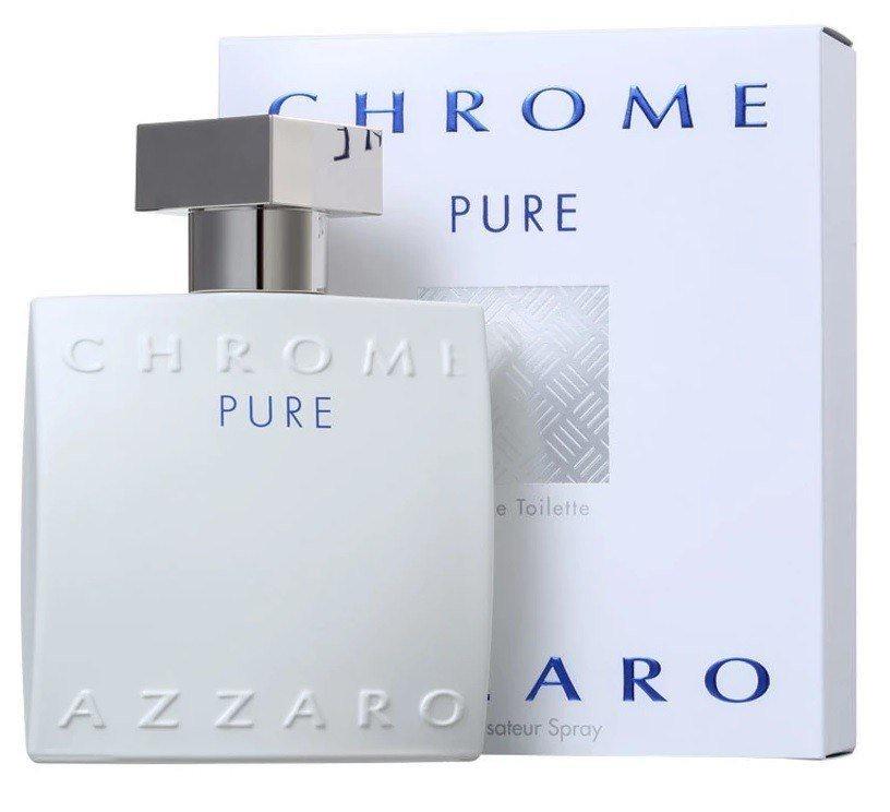 Azzaro Chrome Pure EDT мужская,50 мл. 50 мл
