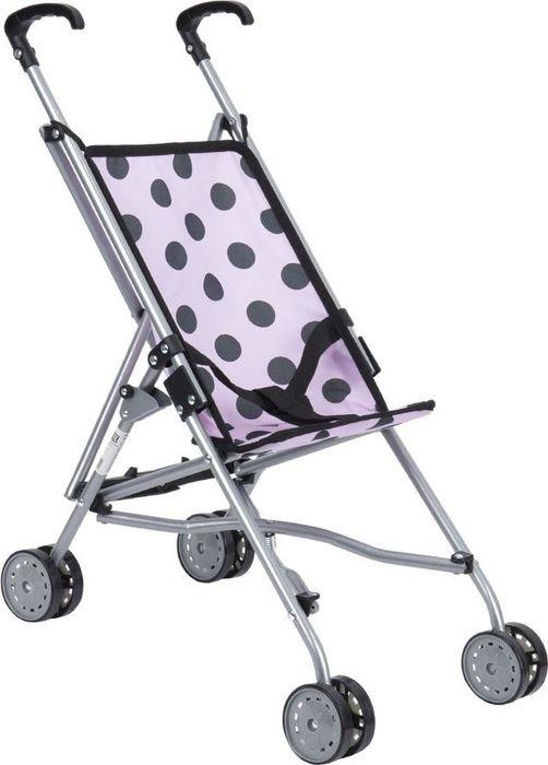 Коляска-трость для кукол Melobo Горох, S9302 PINK, розовый коляска трость cybex topaz princess pink 2016 516203015
