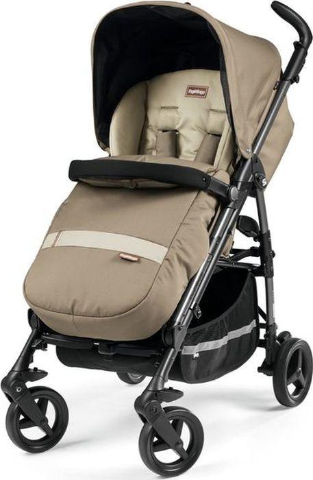 Коляска прогулочная Peg-Perego Si Class, IPSZ300000SU36SU56, бежевый автокресло для новорожденных 0