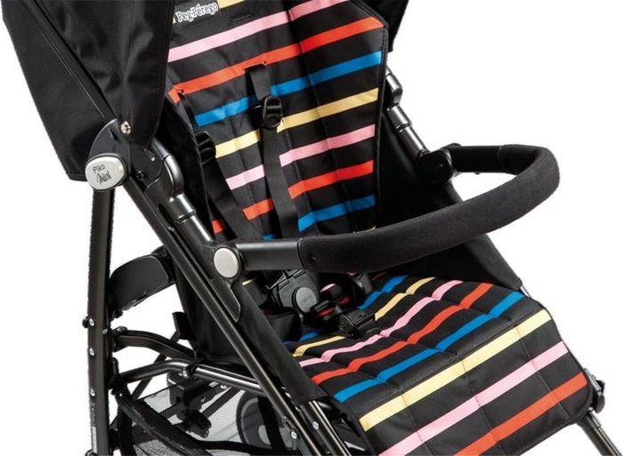 Бампер для коляски Peg-Perego Pliko Mini, IKTR0018NGR, черный