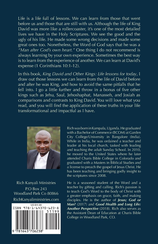 Rich Kanyali King David and Other Kings. Life Lessons for Today недорго, оригинальная цена