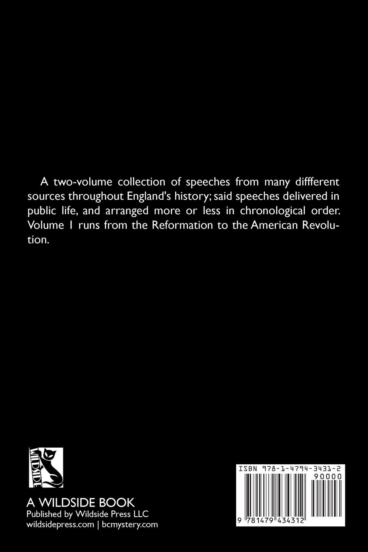 Hugh Latimer, John Knox Orations of British Orators Vol. One