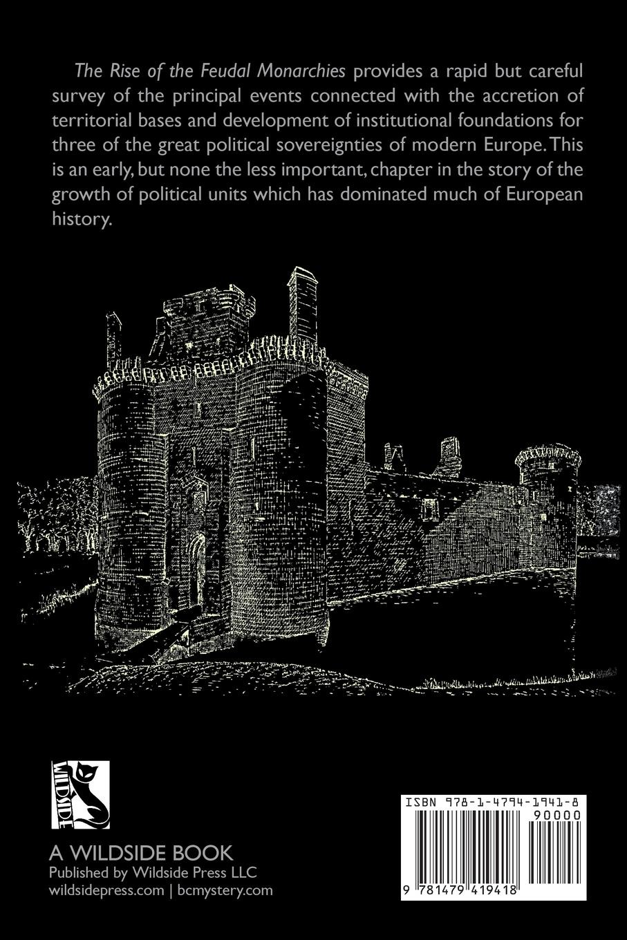 Sidney Painter The Rise of the Feudal Monarchies malcolm kemp extreme events robust portfolio construction in the presence of fat tails isbn 9780470976791