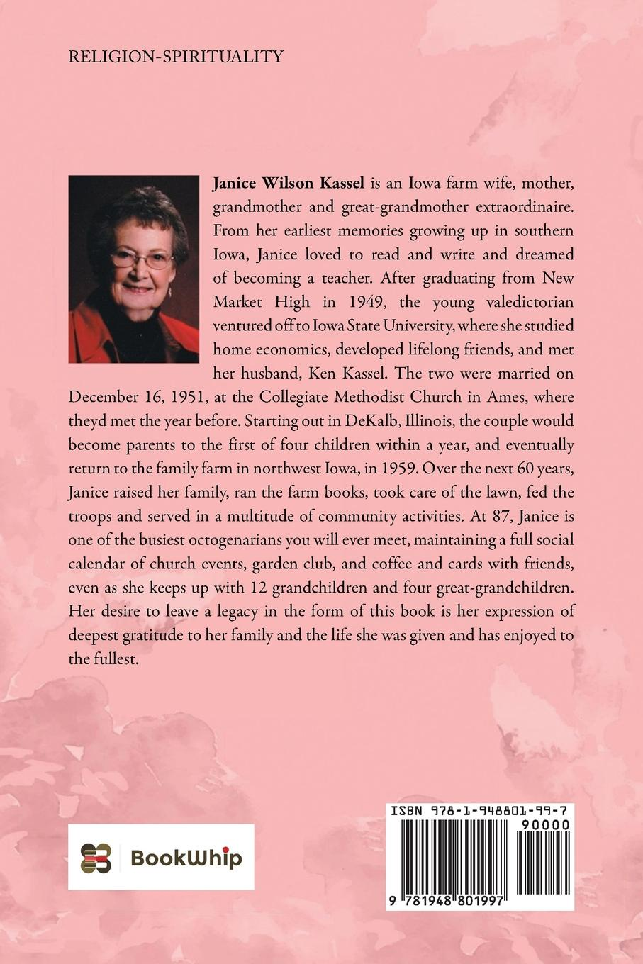 Janice Wilson Kassel ...And Many Thanks. A Collection of Stories and Meditations with an Underlying Theme of Gratitude janice canerdy expressions of faith page 4