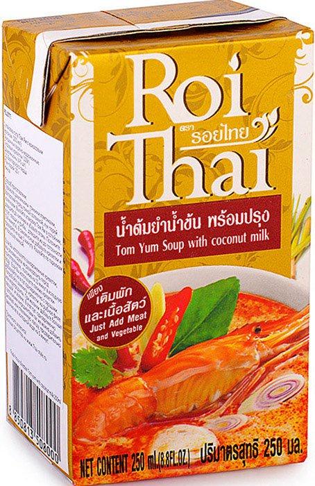 Смесь для супа Roi Thai TY250, 250 готовый суп aroy d том ям 400 мл