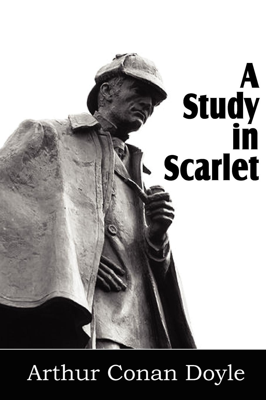 Arthur Conan Doyle A Study in Scarlet scarlet feather