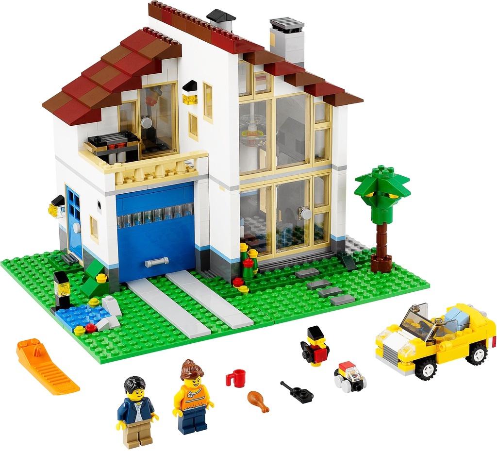 Пластиковый конструктор LEGO 31012