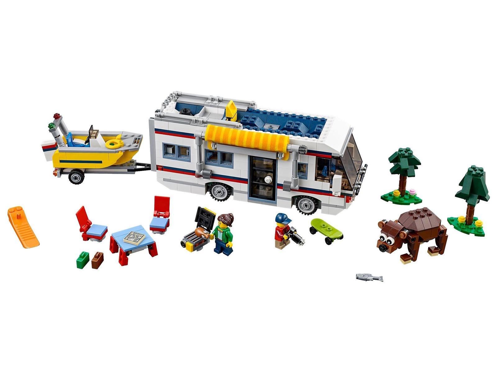 Пластиковый конструктор LEGO 31052