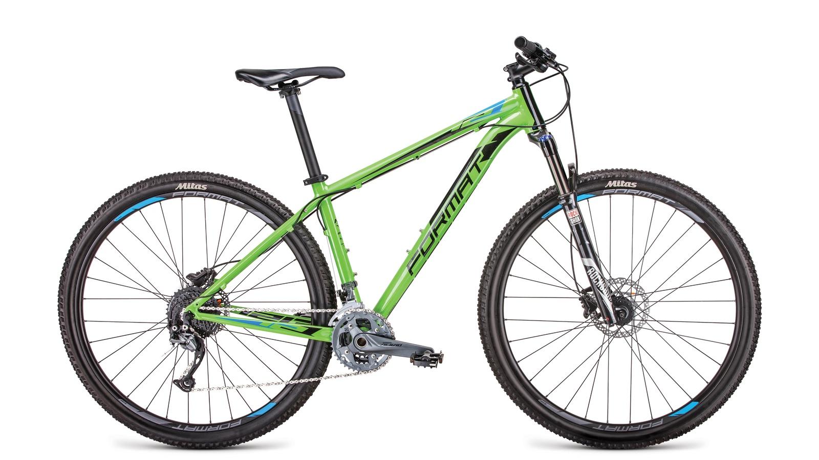 Велосипед Format RBKM9M69S003, зеленый