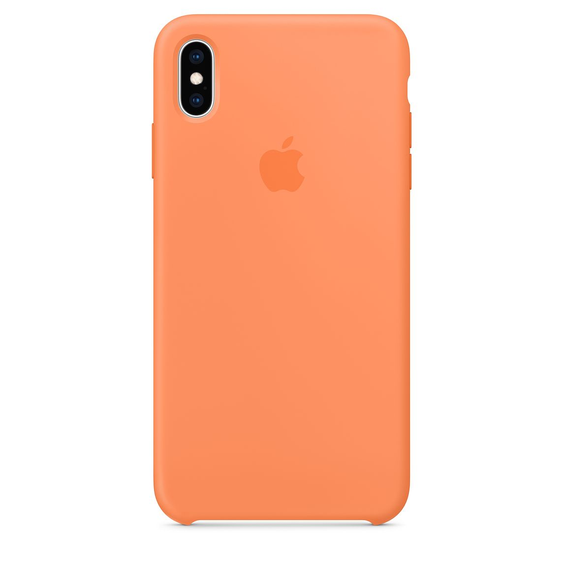 Чехол Apple Silicone Case для iPhone XS Max, Papaya чехол для apple iphone xs max silicone case nectarine