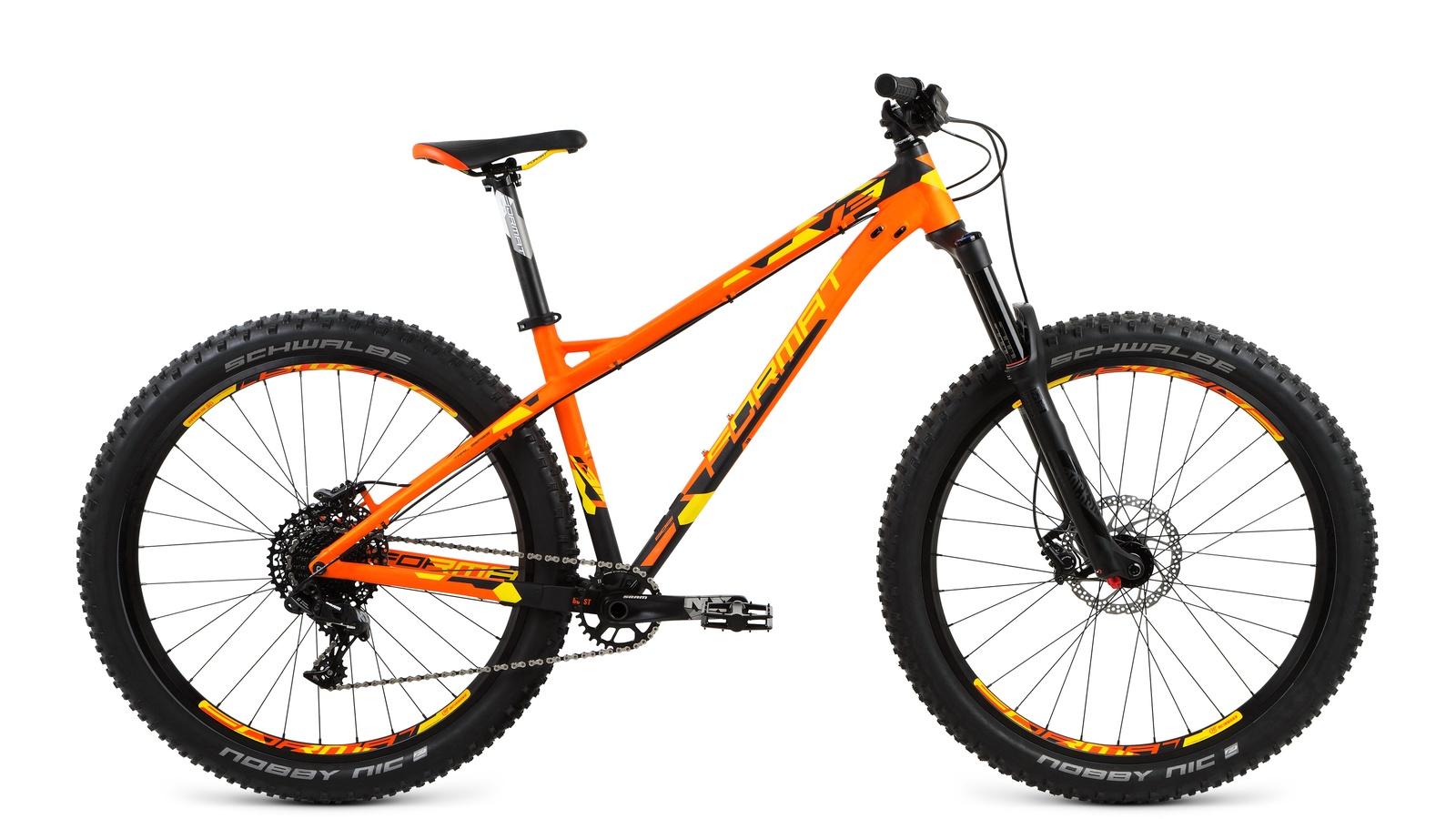 цена на Велосипед Format RBKM7Z67E002, оранжевый, черный