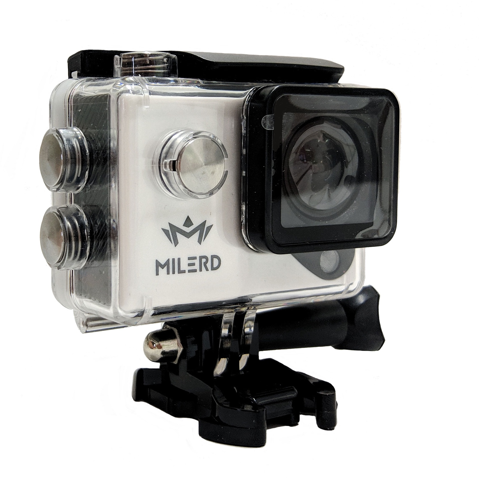 Экшн-камера MILERD FOTEX D400 Ultra HD 4K, белый, черный экшн камера palmexx 4k wi fi action camera ultrahd black px cam 4k bla