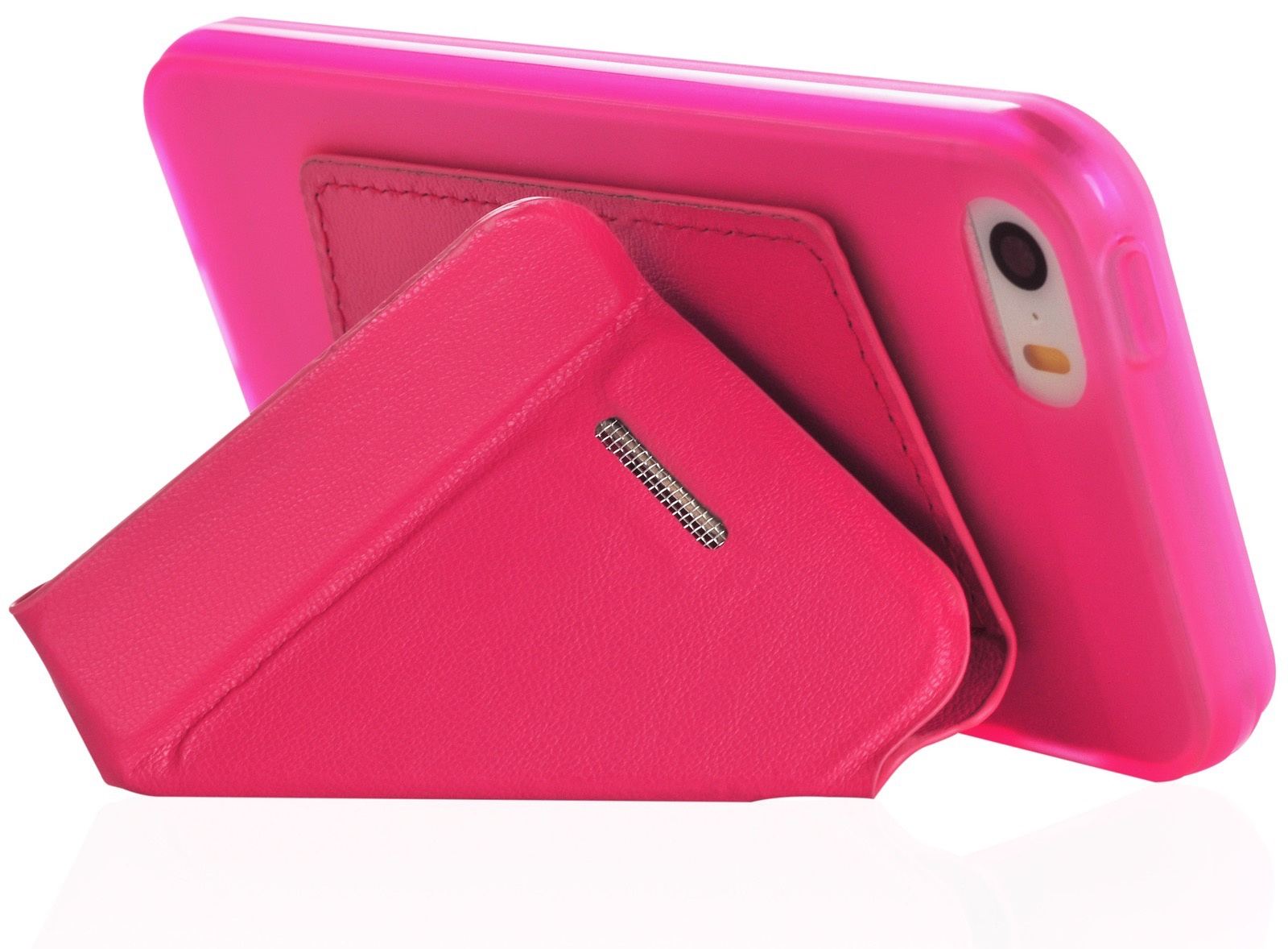 Чехол для Apple iPhone 5/5s/SE книжка Flip силикон + кожа оригами rose для Apple iPhone 5/5S/SE цена и фото