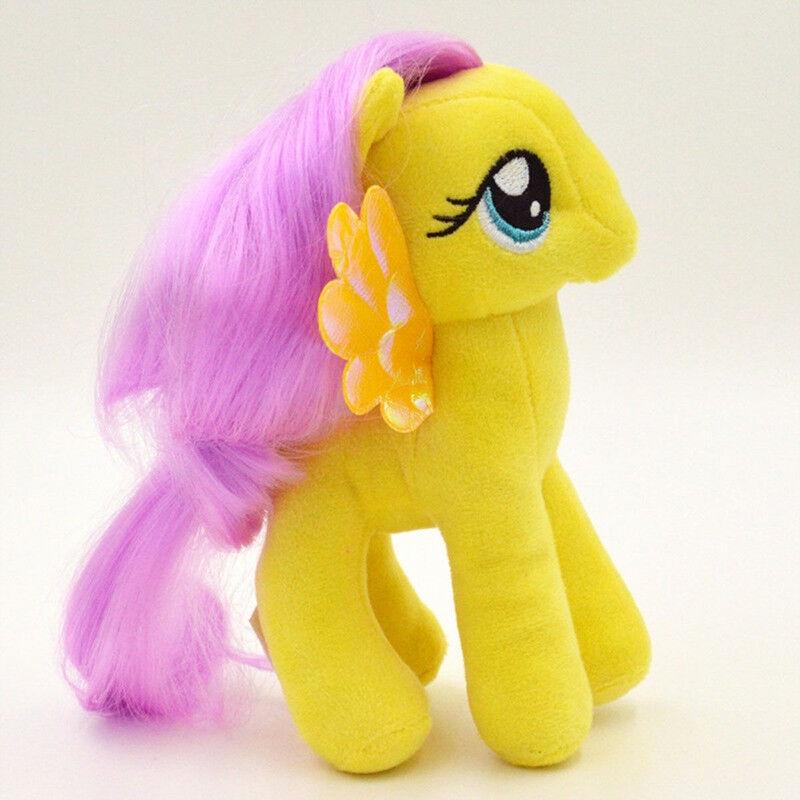 Мягкая игрушка TopSeller Детская плюшевая игрушка (единорог) желтый
