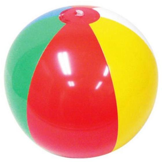 Мяч детский TopSeller Надувной пляжный мяч, разноцветный цена 2017
