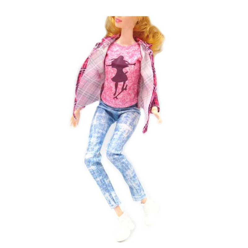 Одежда для кукол TopSeller Одежда для куклы Барби куклы и одежда для кукол wei tai toys кукла с аксессуарами 35 см wtt6407