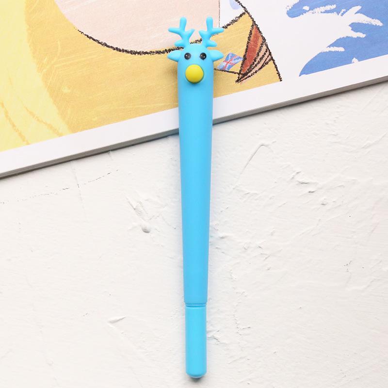 Ручка TopSeller Гелевая (олень) ручка гелевая deli