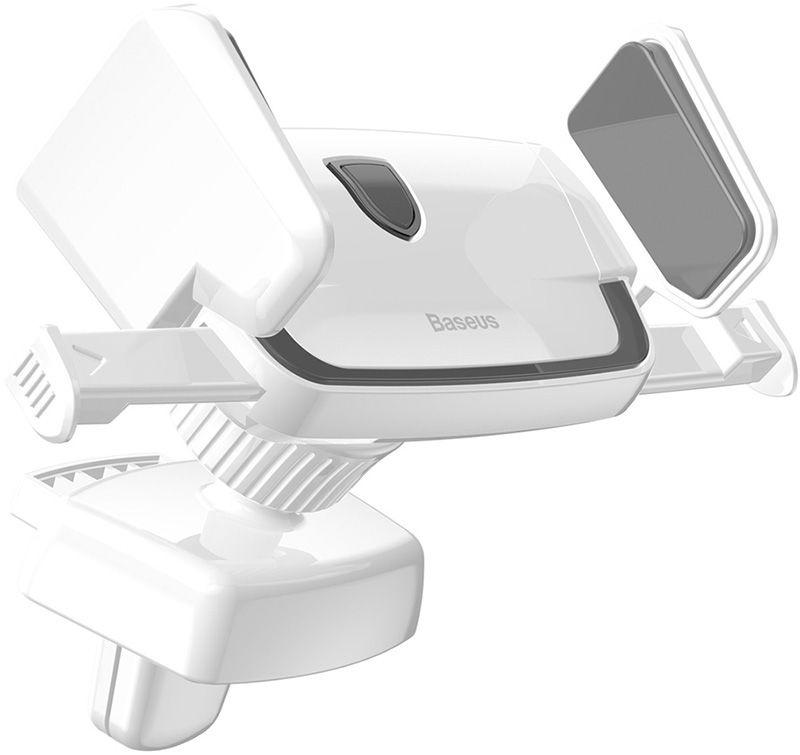 Автомобильный держатель Baseus Robot Air Vent Car Mount, белый