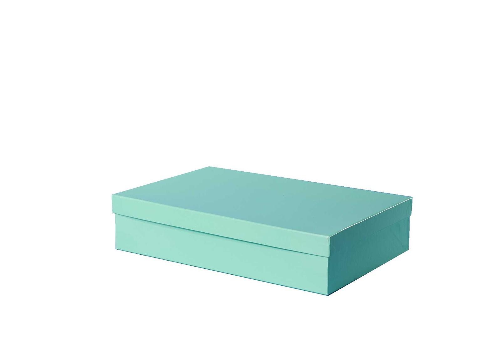 Подарочная упаковка paperforhappy Подарочная коробка, салатовый paperforhappy
