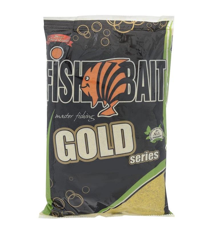 Аксессуар для рыбалки FishBait Прикормка «GOLD» 1 кг. BIG Fish