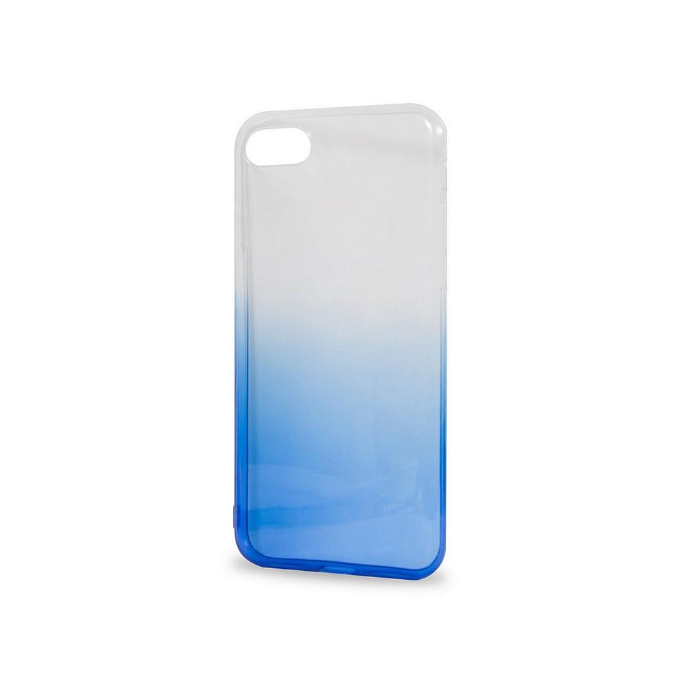 Чехол для сотового телефона IQ Format iPhone 7, силиконовый, синий аксессуар чехол крышка iq format для iphone 7 green